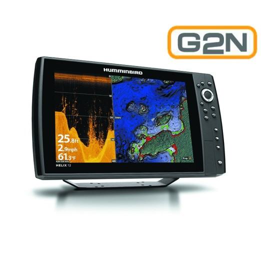 Humminbird Helix 12 DI G2N GPS Sonda