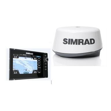Pack Radar Simrad 3G y GPS Sonda Simrad NSS7 evo2