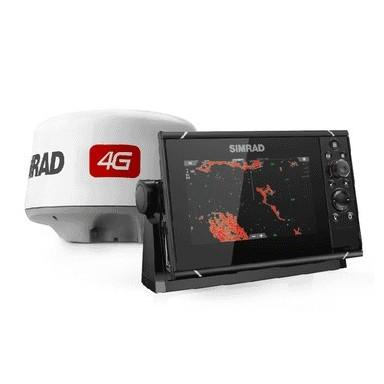 Pack Radar Simrad 4G y GPS Sonda Simrad NSS7 evo3
