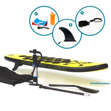 "Paddle Surf Hinchable Aquaparx AP232 7'6"""