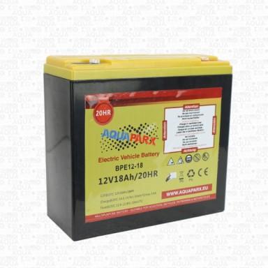 Batería de Plomo Aquaparx 12V 18A