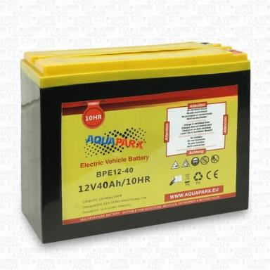 Batería de Plomo Aquaparx 12V 40A