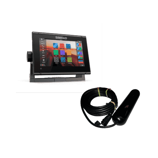 Pack Simrad GO7 XSR GPS Sonda Con Cartografía Navionics+