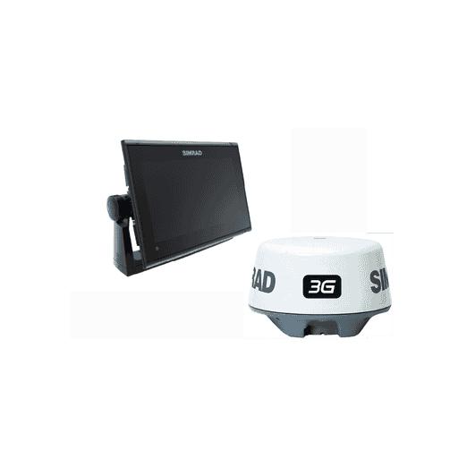Pack Simrad GO9 XSE GPS Sonda Con Radar 3G y Transductor