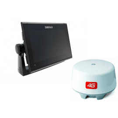 Pack Simrad GO9 XSE GPS Sonda Con Radar 4G y Transductor