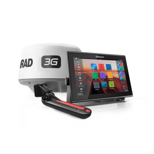 Pack Simrad GO12 XSE GPS Sonda Con Antena Radar 3G