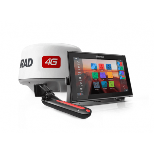 Pack Simrad GO12 XSE GPS Sonda Con Antena Radar 4G