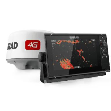 Pack Radar Simrad 4G y GPS Sonda Simrad NSS9 evo3
