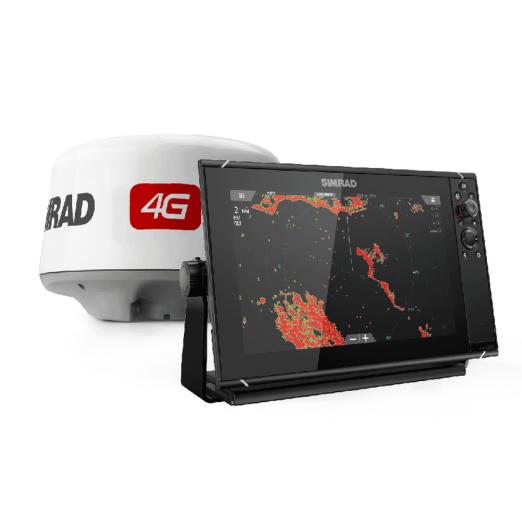 Pack Radar Simrad 4G y GPS Sonda Simrad NSS12 evo3