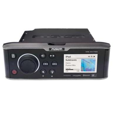 Fusion MS AV755 Radio DVD Bluetooth y NMEA 2000