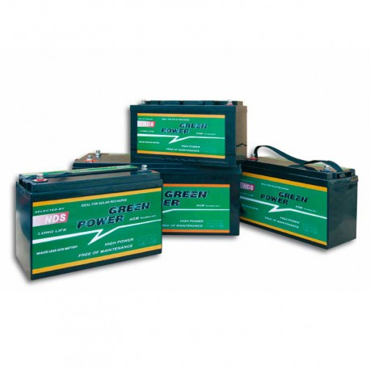 Baterías AGM NDS Greenpower