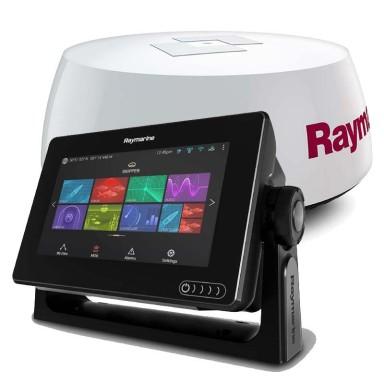 Pack Radar Raymarine AXIOM 7 con Quantum Q24C y Cartografía