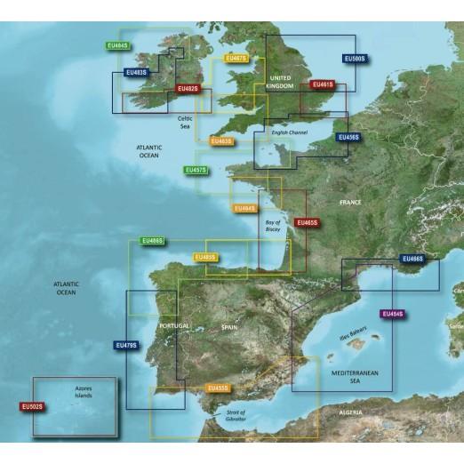 Cartografia Bluechart G2 Vision HD Small