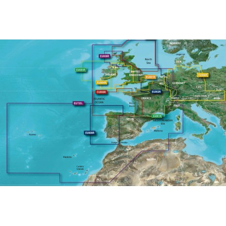 Cartografia Bluechart G2 Regular