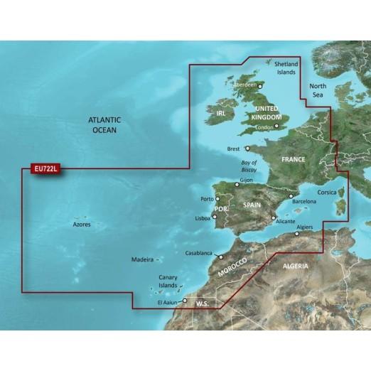 Cartografía Bluechart G2 Vision HD Large