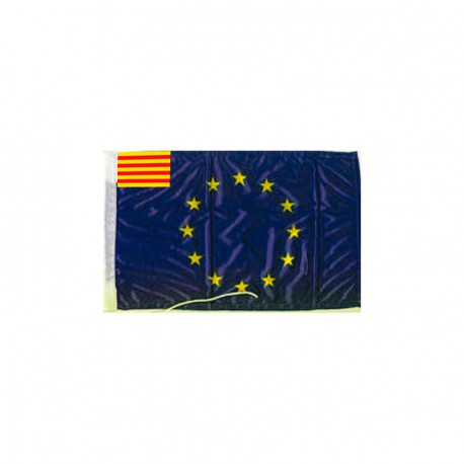 Bandera Unión Europea Cataluña