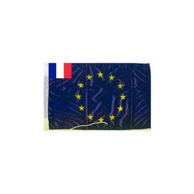 Bandera Unión Europea Francia