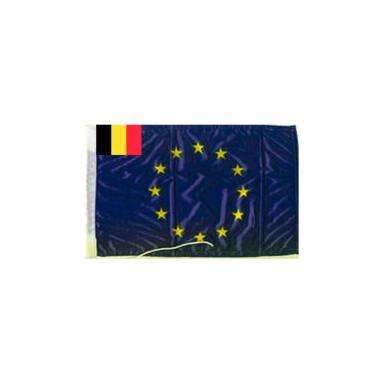Bandera Unión Europea Belgica