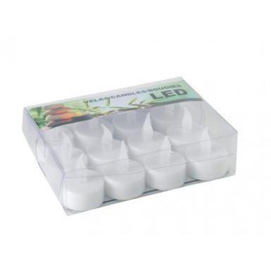 Caja de 12 Velas LED para Candelabros