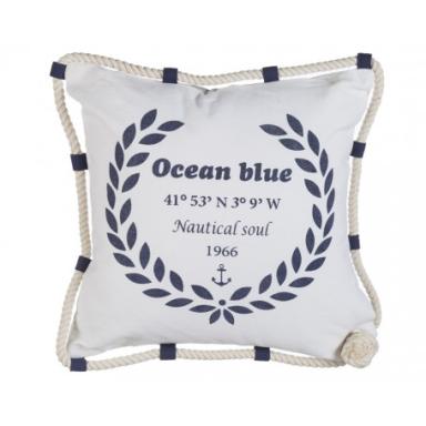 Cojín Marino Ocean Blue (2u)