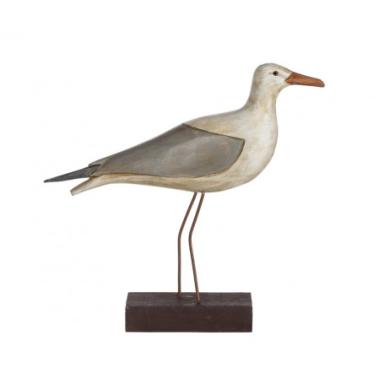 Pájaro Marino Decorativo Madera