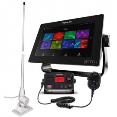 Pack Raymarine Axiom 9 RV + Cartografía + VHF + Antena
