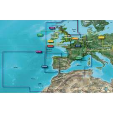 Cartografía Bluechart G3 VISION Large Garmin