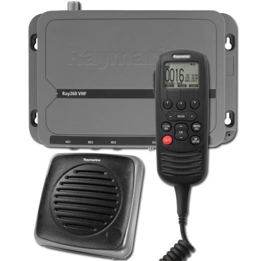 VHF RAYMARINE RAY260E CON AIS