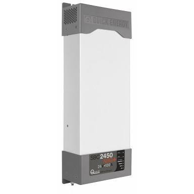 Cargador Baterías Quick SBC 2450 NRG FR 100A