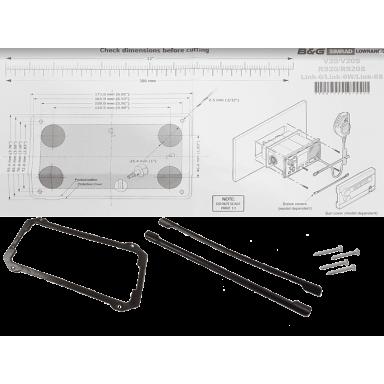 Kit Empotramiento Simrad RS40 y B&G V60