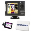 OFERTA LOWRANCE ELITE-5 HDI con CARTA C-MAP MAX-N LOCAL y TAPA