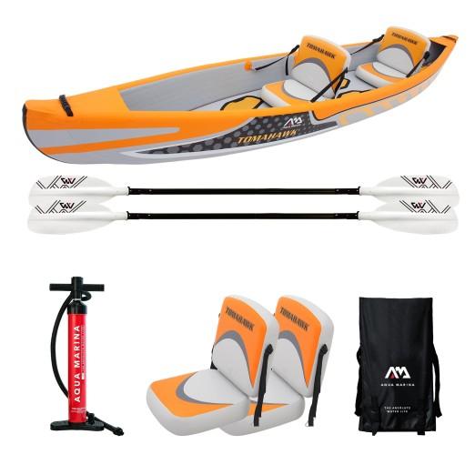 """Aqua Marina Tomahawk 13' 11"""" 2P Kayak"""