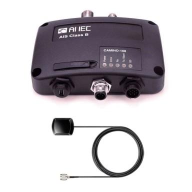 Amec Camino 108 Transponder AIS Con Antena GPS Interior