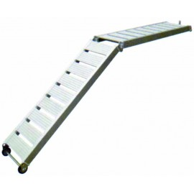 Pasarela Plegable Aluminio Anodizado
