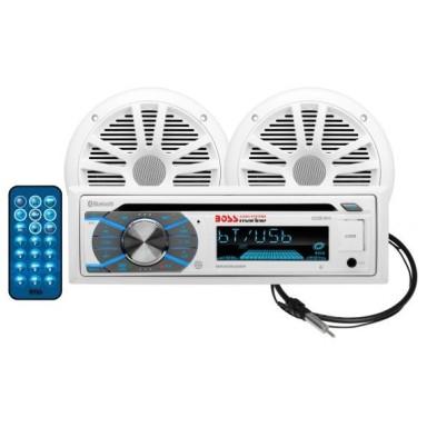 Pack Radio y Altavoces Boss Audio MCK508WB.6 CD y Bluetooth