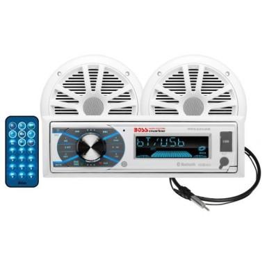 Pack Radio y 2 Altavoces Boss Audio MCK632WB.6