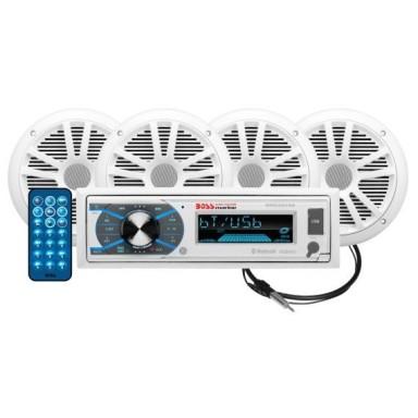 Pack Radio y 4 Altavoces Boss Audio MCK632WB.64