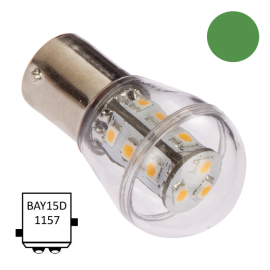 LED Bay15D B75 Verde NauticLed