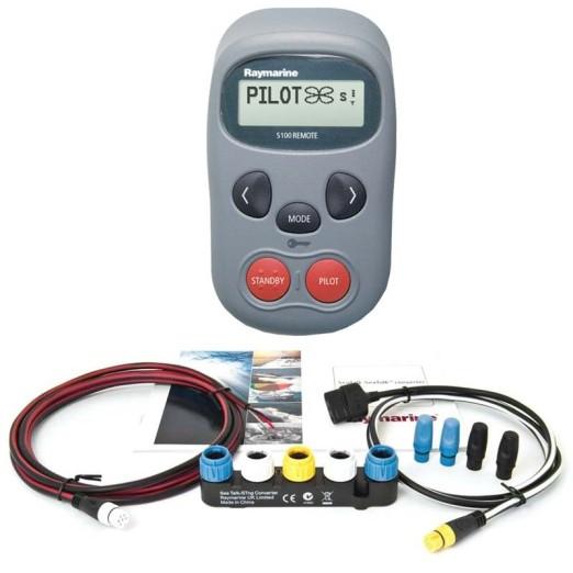 Control Remoto Raymarine S100 y Adaptador SeaTalk 1 a NG