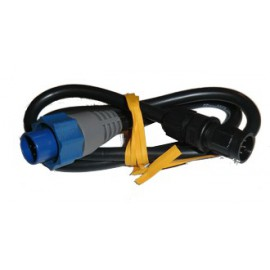 Cable Adaptador Simrad Lowrance 6 Pin A 7 Pin Blue