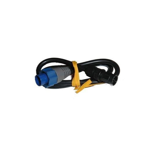 Cable Adaptador Simrad Lowrance 6 Pin A 7 Pin Blue
