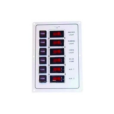 Panel Interruptores Panel Plástico ABS