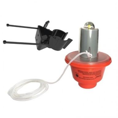 Luz Flotante LED Automática Para Aro Salvavidas