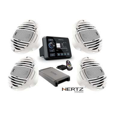 Pack Equipo Música Hertz HMR 20 Amplificador y Altavoces