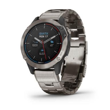 Garmin Quatix 6 Titanio Reloj Náutico GPS