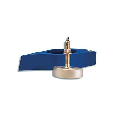 Transductor Pasacascos Bronce Garmin 50 y 200 Khz 1 Kw B258