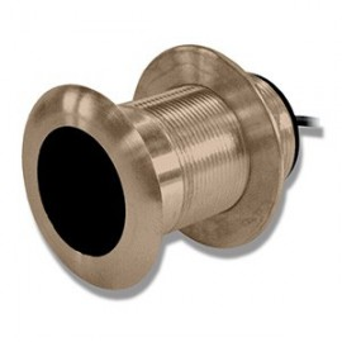 Transductor Pasacascos Bronce Garmin 50 y 200 Khz 500W Bajo Perfil B117