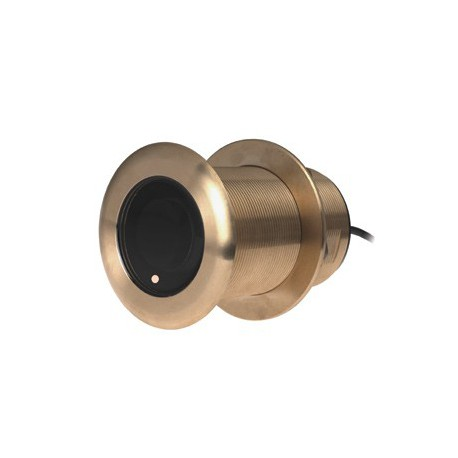 Transductor Pasacascos Bronce Garmin B75L 8 Pins Chirp 500W