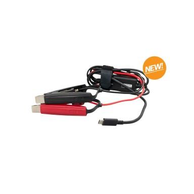 Cable Carga Con Pinzas CTEK CS Free
