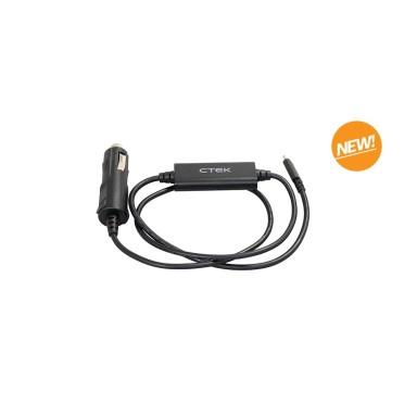 Cable USB-C 12V Toma Mechero CTEK CS Free